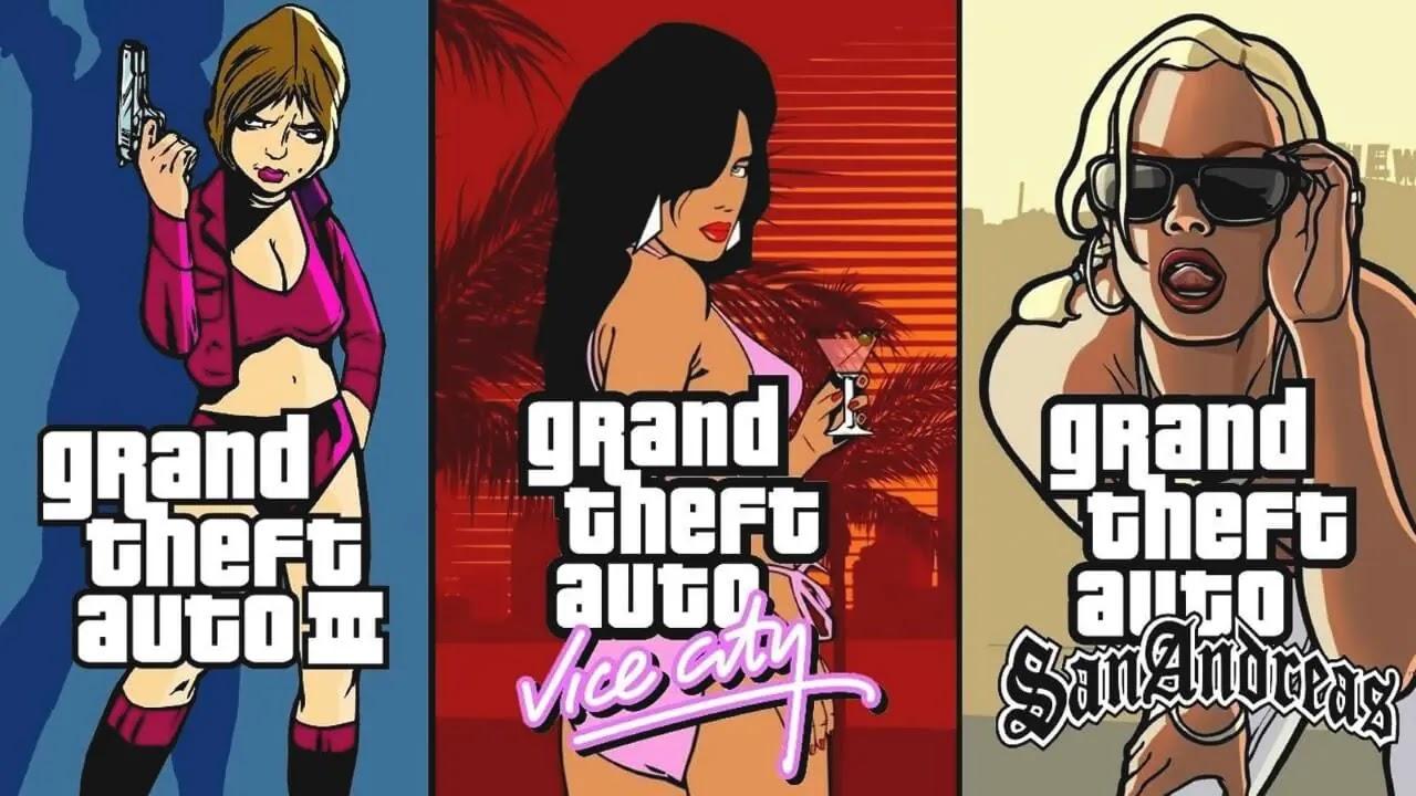 شركة Rockstar تعلن عن ثلاثية Grand Theft Auto جديدة ( قادمة للموبايل )
