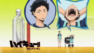 Hellominju.com: ハイキュー!! アニメ   梟谷学園アイキャッチ 第2期 木兎光太郎   赤葦京治   Haikyū!! Commercial Break    Hello Anime !