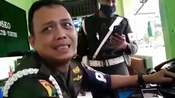Lucunya Aksi Anggota POM TNI Kerjain Penipu Yang Mengaku Polisi Sedang Tangkap Anaknya
