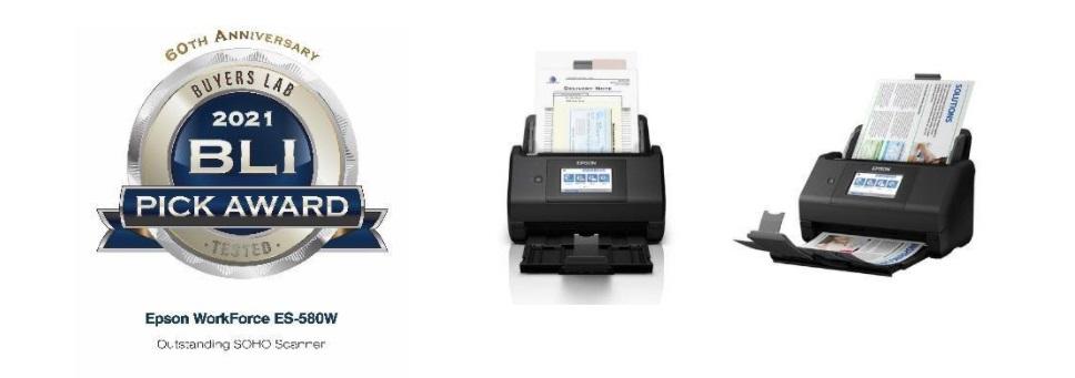 Epson WorkForce ES-580W Scanner