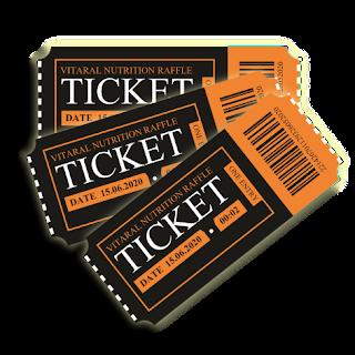 Vitaral Raffle Competition Ticket