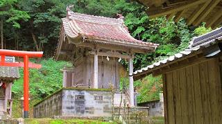 人文研究見聞録:笠松神社 [山口県]