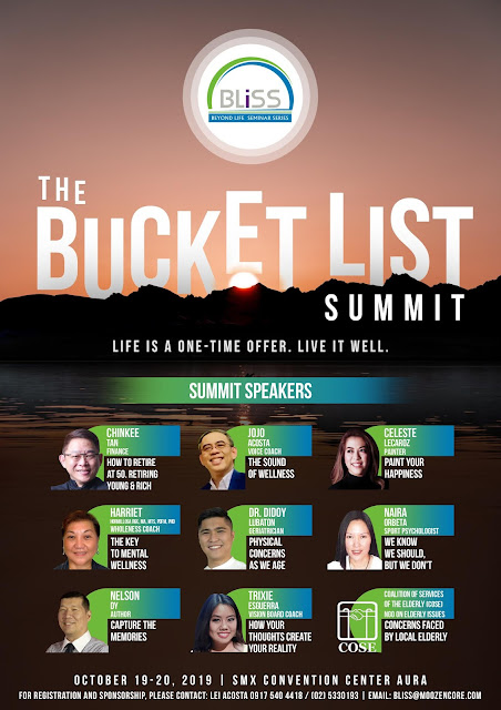 All-Around Pinay Mama blog, The Bucket List Summit, Happy Events by Deegee Inc., Events PH, SMX Convention Center Aura Events, SM Aura