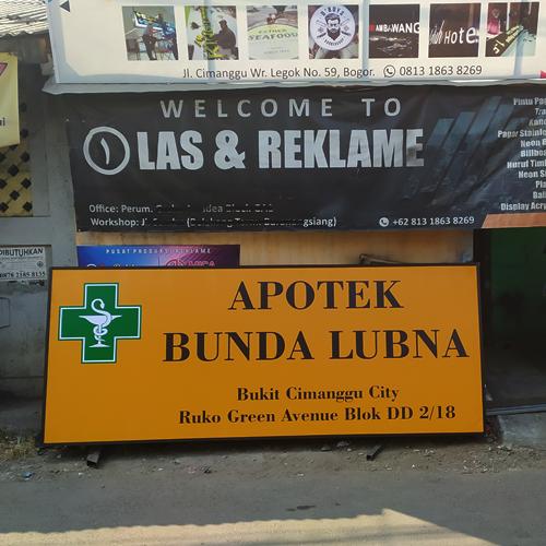 Jasa Pembuatan Plang Papan Nama di Bogor Termurah #1