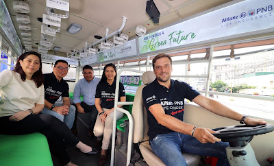Allianz PNB Life Partners with eSakay in Promoting an  Environmentally-Sustainable Way to Commute