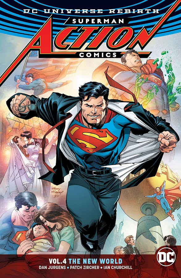 action comics the new world dc rebirth