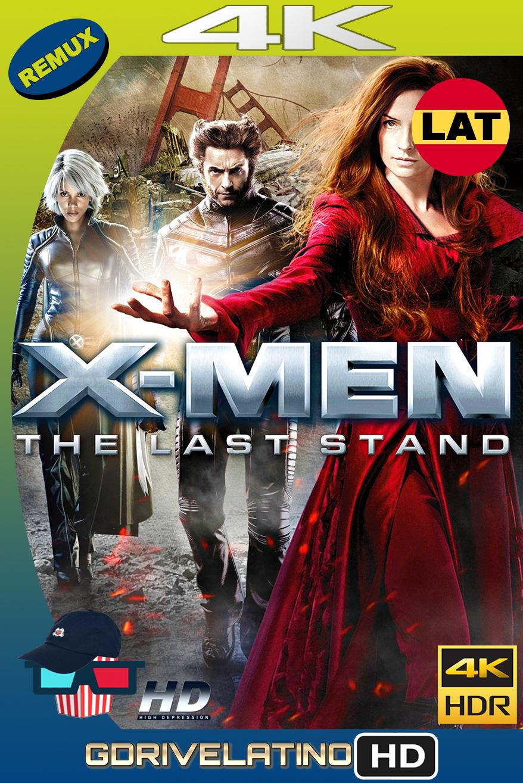 X-Men 3 : La Decisión Final (2006) BDRemux 4K HDR Latino-Ingles MKV
