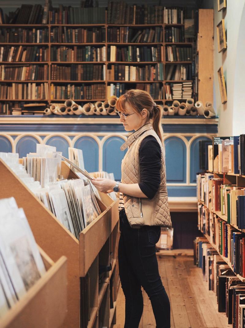 La librairie Leakey's Bookshop à Inverness