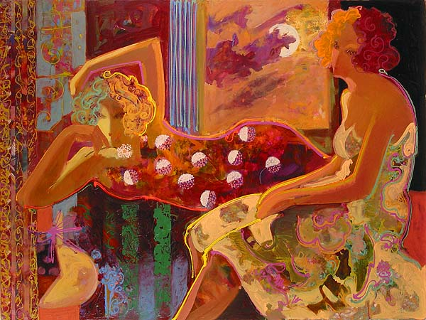 Mahmood Sabzi | Iranian Abstract Impressionism painter