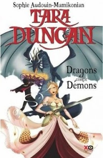 Tara Duncan Dragons contre Demons by Sophie Audouin-Mamikonian book