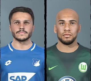 PES 2019 Bundesliga Facepack Vol 7 by Shaft