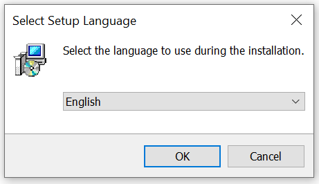 Select Setup Language