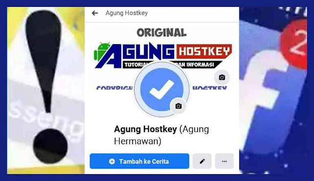 cara memasang pp centang pada akun facebook, pp centang, cara bikin pp centang, pp centang ori