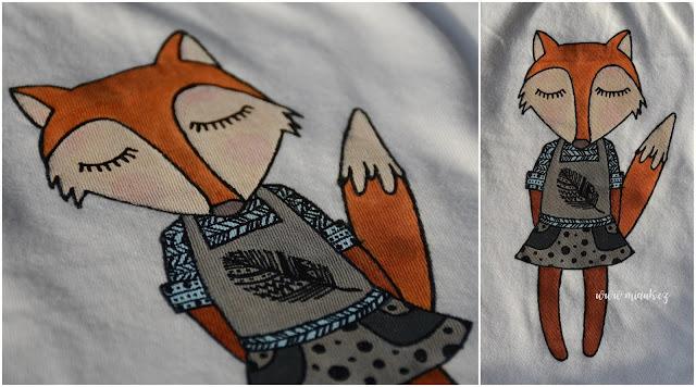 liška tričko
