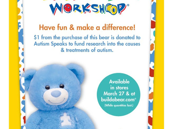 Build-A-Bear Workshop Supports Autism Speaks (Review)