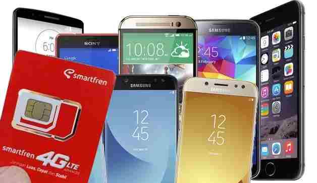 HP Samsung bisa Smartfren
