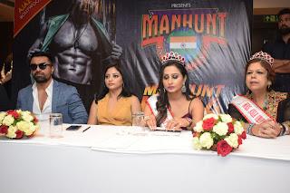 दिल्ली में हुआ 'मैनहंट इंडिया 2019' का ऑडिशन