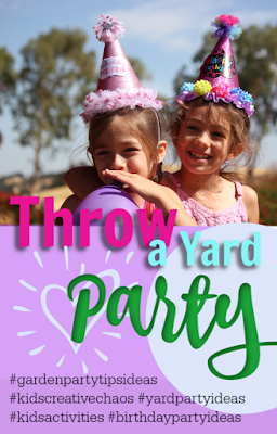 Throwing a Child's Garden Birthday Party in Your Yard: A Guide