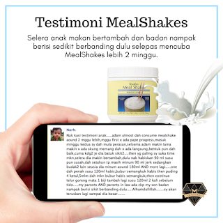 Set Cadangan Puasa Shaklee Testimoni Meal Shakes
