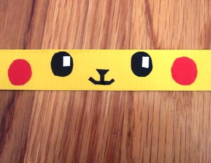 Cara Membuat Gelang Pikachu dari isolasi