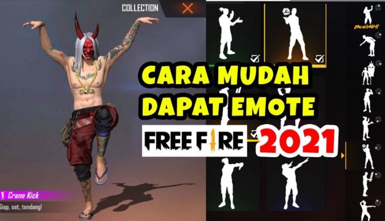 Cara Mendapatkan Emote FF Gratis 2021