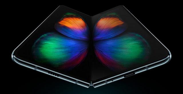 موعد طرح هاتف Galaxy Fold جالاكسي فولد القابل للطي