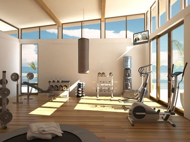 modern home gym design ideas