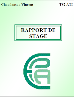 rapport de stage bts assistant technique d'ingénieur