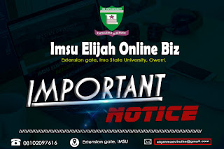 IMSU Notice On Skill Acquisition For All Students