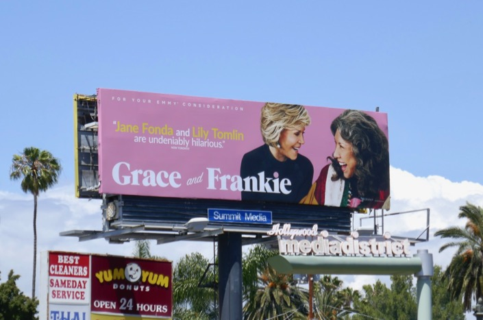 Grace Frankie season 5 Emmy FYC billboard