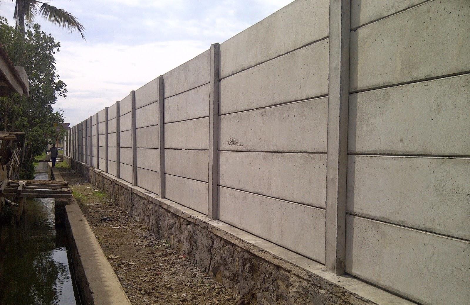 Jual Tembok Beton Precast untuk wilayah Lombok Bima dan
