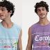 Camisetas com estampas da Corote Sabores estão sendo vendidas nas Lojas Renner