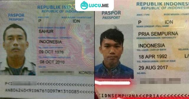 7 Nama Lucu di Paspor Ini Mengundang Tawa Petugas Imigrasi