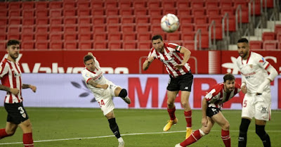 ملخص وهدف فوز اتلتيك بلباو علي اشبيلية (1-0) الدوري الاسباني