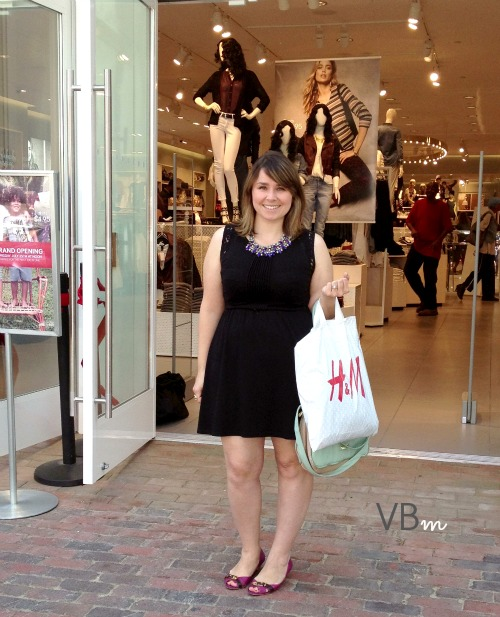 Shopping in Old Town Alexandria H&M on King Street