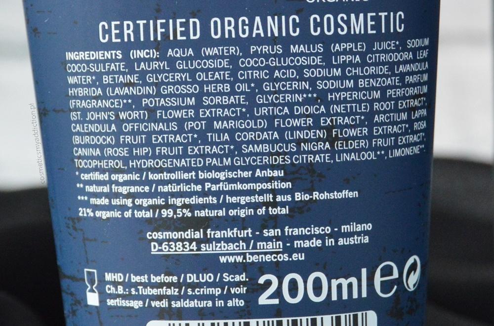 Benecos, naturalny żel 3w1 oraz naturalny spray dla mężczyzn