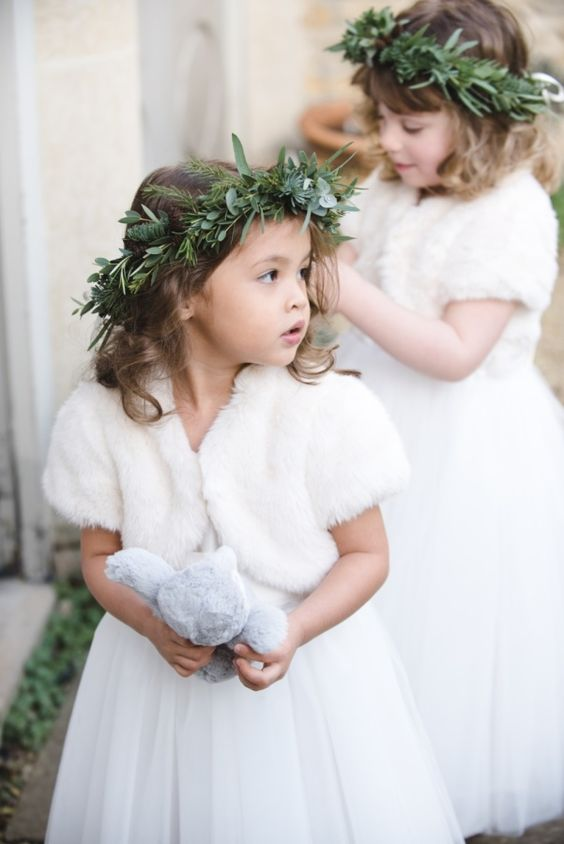Druhenki na ślub i wesele, Organizacja ślubu i wesela zimą, Zimowe Panny Młode, Zimowe inspiracje na ślub, Zimowy Ślub,