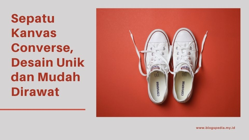 sepatu kanvas Converse