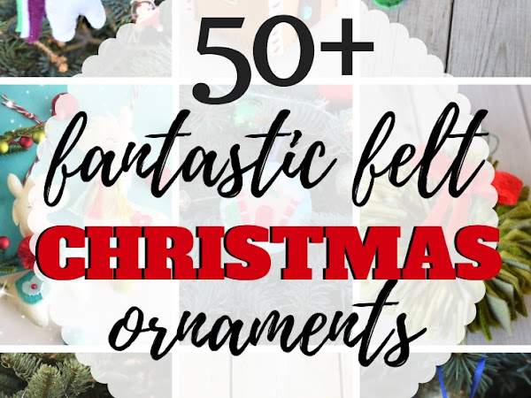 Fantastic Handmade Felt Christmas Ornaments