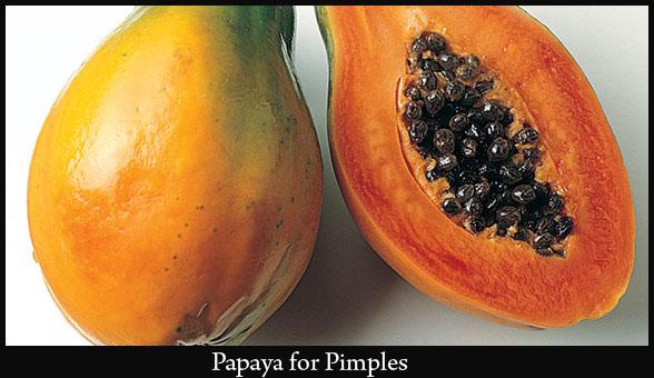 papaya-to-get-rid-of-pimples