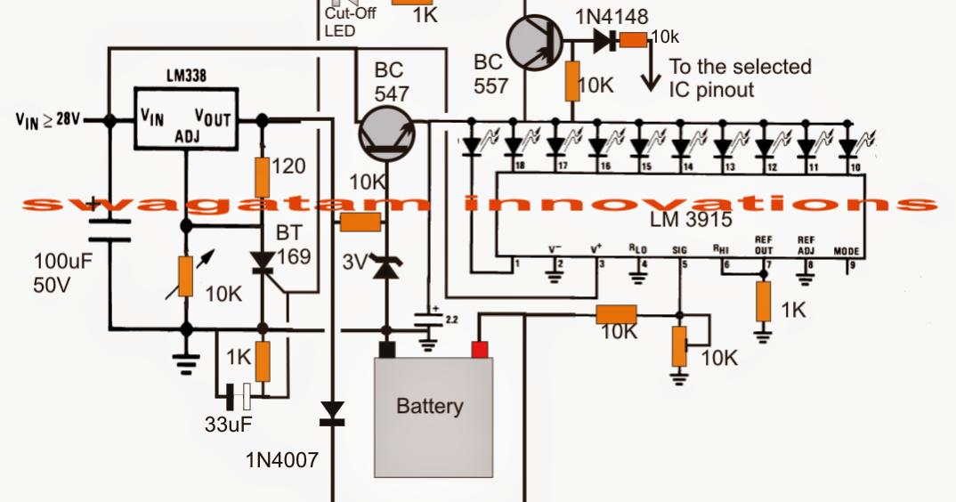 3v  4 5v  6v  9v  12v  24v  automatic battery charger with indicator circuit   electronic schumacher battery charger se-5212a wiring diagram schumacher battery charger se 4022 wiring diagram