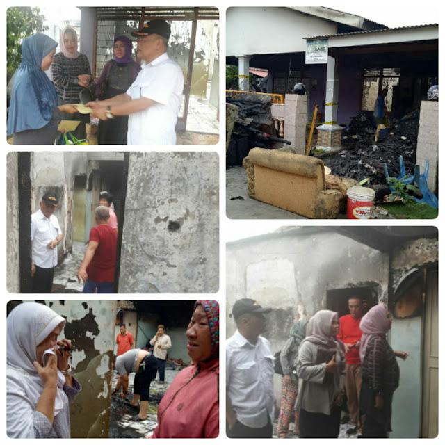 Gotong-Royong, IKA-SMETHSA Bantu Alumni Korban Kebakaran
