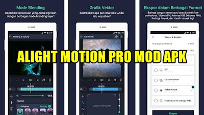 Download APK Alight Motion Pro Versi 3.9.0 MOD Terbaru 2021