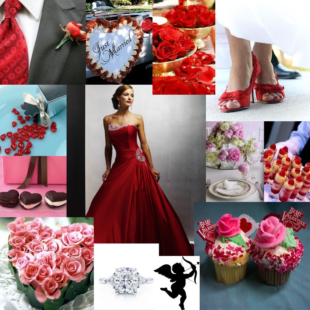 Wedding Day Ideas: Wedding Ideas: Valentine's Wedding