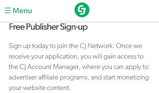 CJ, affiliate, Google AdSense alternatives