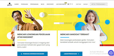 Website Penyedia Lowongan Kerja 2019 Kaca Teknologi