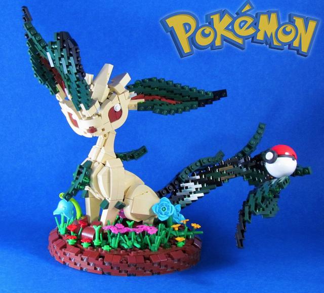 Alucina con estos pokémon hechos con piezas LEGO 1