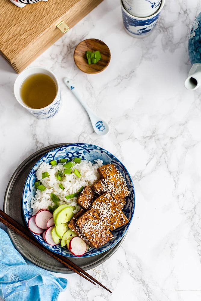 Tofu z sezamem