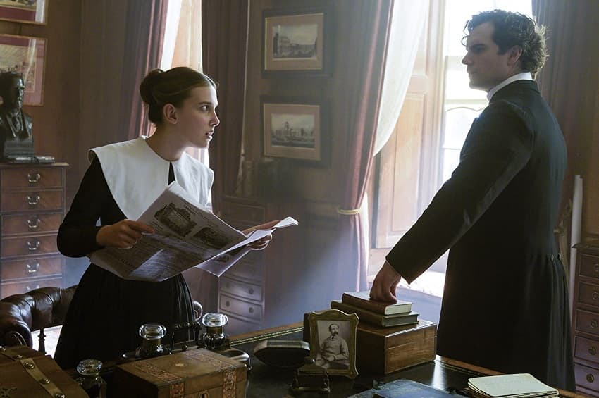 Рецензия на фильм «Энола Холмс» - Сестра Шерлока и Майкрофта спасает феминизм! - 03
