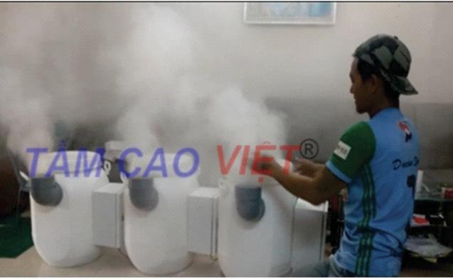 Quy trình lắp đặt hệ thống phun sương tạo ẩm nhà nuôi yến Tầm Cao Việt